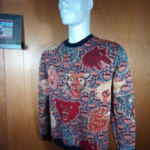 ZARA JACQUARD SWEATSHIRT Unique textured design